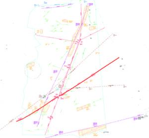 PAS128 compliant utilities survey of the test site